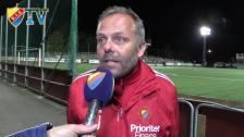 Anders Johansson efter 6-3-förlusten mot IFK Göteborg