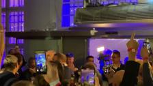 Sista matchen, guldfesten, firandet på Stockholms Stadion