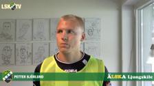 Petter Björlund, matchens LSK profil mot Varbergs BoIS