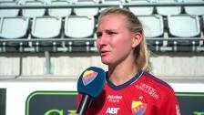 Rachel Bloznalis efter förlusten mot Linköping