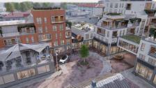 Ömsens nya byggplaner i centrum