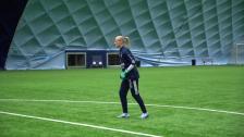 Kathrine Östergaard Larsen om dubblerad försäsong