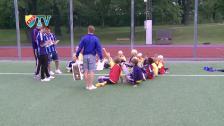 Haris och Erton besökte DIF:s sommarfotbollskola