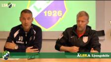 Presskonferens efter Ljungskile SK - Assyriska FF