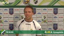 Intervju med Tim Nilsen, en av säsongens nya spelare i LSK