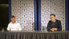 Presskonferens efter MFF – AIK