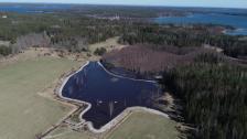 Våtmark i Bomarsund