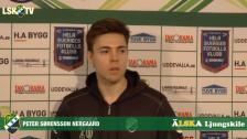 Peter Sørensen Nergaard, klar för LSK idag med kontrakt året ut