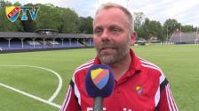 Anders Johansson efter 1-1 mot Åtvidaberg i U21-Allsvenskan