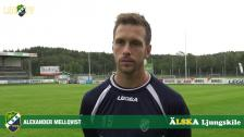 Alexander Mellqvist, matchens LSK-profil mot IK Oddevold