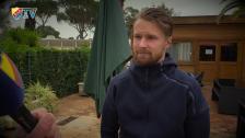Jacob Une-Larsson är lite rädd för sin rumskompis Tommi Vaiho