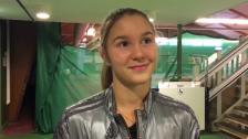 Louise Wikander vann slutspelet i Masters ett år ung