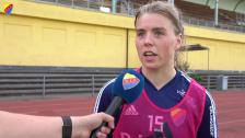 Ingibjörg Sigurdardottir inför lördagens träningsmatch