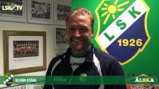 Glenn Ståhl efter andra raka segern och inför mötet mot FK Karlskrona