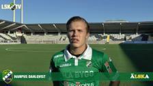 Hampus Dahlqvist, vårt nionde nyförvärv