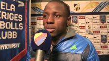 Nyasha målskytt i sin första Allsvenska match från start