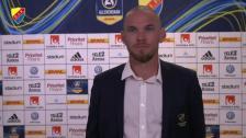 Kapten Danielson: Defensivt gick det bra men jag vill bidra mer i offensiven