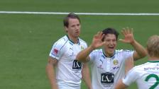 Höjdpunkter från Hammarbys seger över Kalmar FF