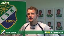 Jacob Olsson, matchens LSK-profil mot Landskrona BoIS