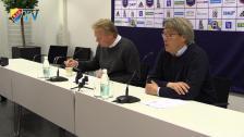 Presskonferensen efter Djurgården Göteborg
