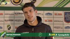 Mattias Pedersén, ny spelare i LSK för säsongen