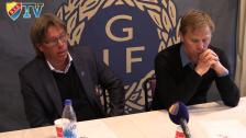 Presskonferensen från Strömvallen