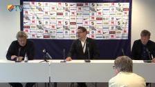 Presskonferensen Häcken - Djurgården