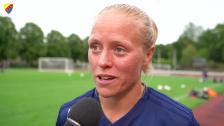 Jalkerud och Andersson inför Kopparbergs/Göteborg FC