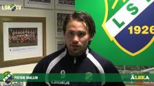 Patrik Wallin, matchens LSK-profil mot FK Karlskrona