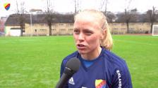 Mia Jalkerud hoppas att målen kommer mot Rosengård