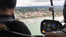 Redaktionen får testa flyga Helikopter!