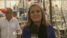 Democracy Now! i Almedalen den 2 juli 2014