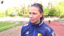 Gudbjörg och Julia inför Kopparbergs/Göteborg FC