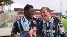Två lyckliga mittbackar, Bergström och Amartey