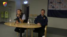 Presskonferensen efter Gif Sundsvall - Djurgården