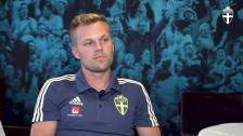 Sebastian Larsson - 100:e A-landskampen