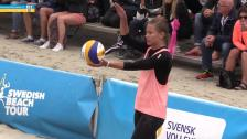 SM-FINAL (damer): Anne-Lie Rininsland/Sigrid Simonsson - Camilla Nilsson/Tadva Yoken