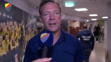 Kim Bergstrand efter en ny batalj mot Elfsborg