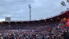 Segersång (Hey Jude) på Stockholms Stadion
