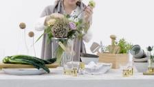 Nature - Gold table setting