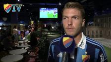 Martin trivdes på O´Learys men inte på bänken mot AIK