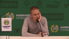 Presskonferensen efter Hammarby - Elfsborg