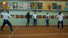 DIF Fotboll besökte DIF Fäktning