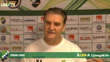 Zoran Lukic inför morgondagens match mot GAIS