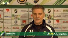 Zoran Lukic inför nyckelmatchen mot Degerfors IF på Uddevalla Arena