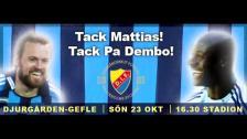 Tack för allt Pa Dembo Touray och Mattias Jonson