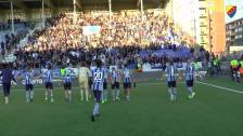 Vaiho, Une Larsson, Engvall och segerfirandet