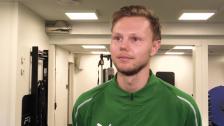 Tim Söderström på plats i Hammarby