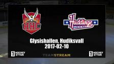 Hudik Hockey vs. Huddinge - 10 Feb 18:45 - 21:15