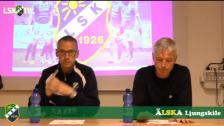 Presskonferens efter Ljungskile SK - Varbergs BoIS